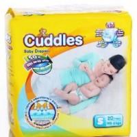 cuddles diapers tape S 20 / popok bayi / diapers bayi / pampers bayi