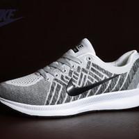 Sepatu Sport Nike Zoom Flyknit Premium Import / running olahraga lari