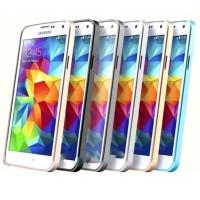 Ultra Thin Aluminium Metal Bumper Case Single Color for Samsung Galaxy