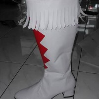 sepatu mayoret cewek TK handmade