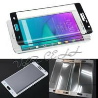 Tempered Glass Samsung Galaxy Note EDGE Warna Full Layar Cover Frame