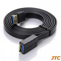 Orico USB 3.0 To USB 3.0 Female USB Noodle Cable Adapter 1.5 Meter - C