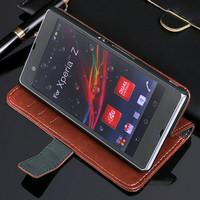 Flip Cover for Sony Xperia Z. [Promo]