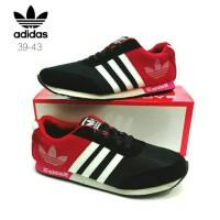 Sepatu Adidas Neo Logo Merah