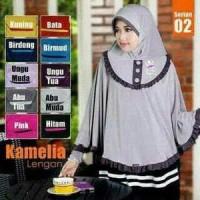 Jual Jilbab/ Hijab/ Kerudung/ Khimar - Bergo Batwing Lengan / Kamelia Murah