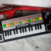 Mainan Edukasi Unique Music Keyboard Wonderful Time