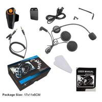 motorcycle helmet bluetooth interphone headset 1000 meter-bt-s2