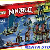 LEGO Ninjago # 70732 City of Stiix Scroll of Airjitzu Ninja Nyas Speed