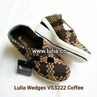 harga Lulia Wedges Tali Silang V3222 Tokopedia.com