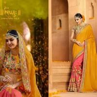 gaun pengantin india