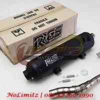 Knalpot Standar Racing Tsukigi RRGS Honda Vario 125 / 150 & PCX 150