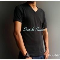 Jual Kaos Dalam Oblong V Neck Body Fit - Agree Murah