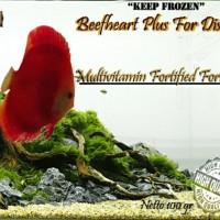 harga Pakan Ikan Beefheart Plus (Berger Merah) Discus, Louhan, dll. Tokopedia.com