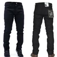 Celana Jeans Hitam Premium / Celana Jeans Macbeth / Jeans Bandung