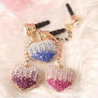 harga Love Blue Swarovski Pluggy - Gantungan Hp - Earplug - Dustplug Tokopedia.com