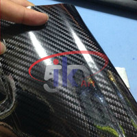 STIKER / STICKER CARBON 5D ( NEW )