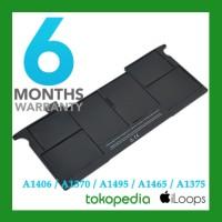 """Original 100% Battery Baterai Macbook Air 11"""" A1406 A1495 A1370 A1465"""
