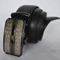 Ikat PInggang Kulit Model Rell Branded Crocodile