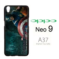 Captain America Wallpaper X2942 Casing HP Oppo Neo 9 / A37 Custom Cas