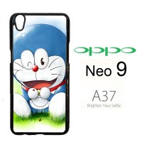 doraemon X0141 Casing HP Oppo Neo 9 / A37 Custom Case Cover