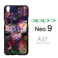 Coldplay Paradise V0410 Casing HP Oppo Neo 9 / A37 Custom Case Cover