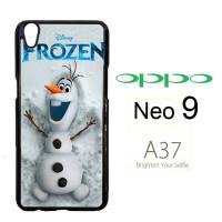 Disney Frozen Olaf Poster F0167 Casing HP Oppo Neo 9 / A37 Custom Cas