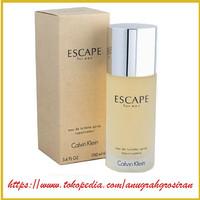 parfum ori Calvin Klein Escape for men EDT 100ml anugrahgrosiran