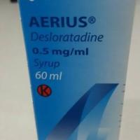 Aerius Sirup Syrup Desloratadine 60ml