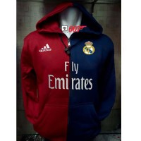 Jaket REAL MADRID New Hoodie Madrid Kaos cr7