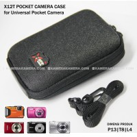 X12T Pocket Case - Best for Pocket Camera for Canon Nikon Sony etc