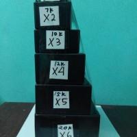 box x2 untuk rangkaian elektronika box polos hitam box kotak