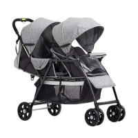 harga Baby's Only T2 Tandem Stroller Lightweight Double Twin Baby Kembar Tokopedia.com