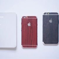 Jual case wood sticker for iphone 4/4s 5/5s 6/6s 6+/6s+ 7 7+ - VnR Store Murah