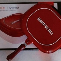 Happycall double pan 32 Cm kulit jeruk Jumbo/ Happy Call/ Happy Cal
