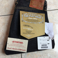 The Flat Head F310 Jeans Denim Selvedge selvage nudie size 26