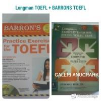 Barron TOEFL & Longman Complete TOEFL (2 buku)