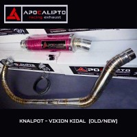 Knalpot Racing Kidal - NVL / NVA (Vixion New / Old) - Apocalipto
