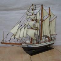 Miniatur kapal Hadiah Kado Miniatur kapal layar KRI DEWARUCI 40 cm