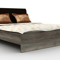 harga Anya-living Dakota Bed 180 - Tempat Tidur Sn Oak Tokopedia.com