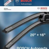 Wiper Daihatsu Xenia - BOSCH Clear Advantage 20/16