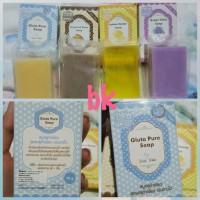 Jual MURAH Gluta Pure Milk Soap By Wink White Murah