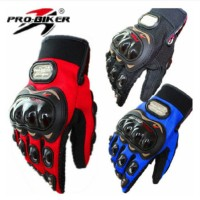 Sarung Tangan Probiker Pro Biker Full Jari Glove Cycle Gloves Motor