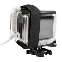 USB LED Light Lens Ring For GoPro Hero 4/3 + Frame .