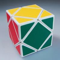 Rubik Skewb White Base QJ Magic Cube Original