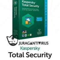 Jual Kaspersky Total Security (NEW) - 3PC 1 Tahun - termurah - Murah