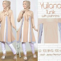 Yuliana Tunik-Tunik panjang remaja-blouse muslim modern-Fashion-Mc