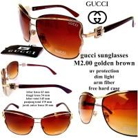 kacamata GC sunglasses m2.00 brown fullset
