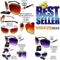 kacamata GC sunglasses m2.00 fullset