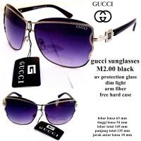 kacamata GC sunglasses m2.00 black fullset
