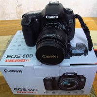 KAMERA CANON 60D KIT 18-55 IS II